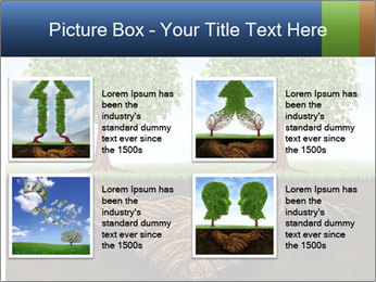 Two trees PowerPoint Template - Slide 14