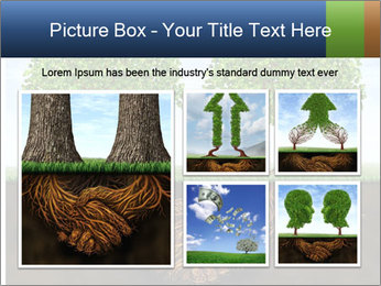 Two trees PowerPoint Template - Slide 19
