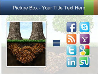 Two trees PowerPoint Template - Slide 21