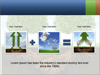 Two trees PowerPoint Template - Slide 22
