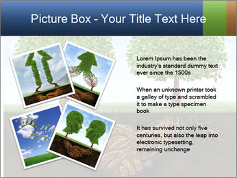 Two trees PowerPoint Template - Slide 23