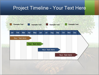 Two trees PowerPoint Template - Slide 25