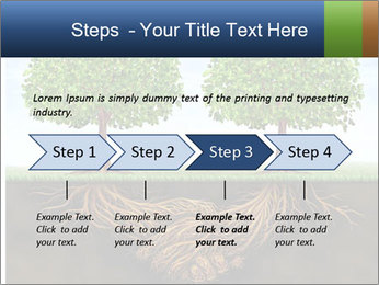 Two trees PowerPoint Template - Slide 4