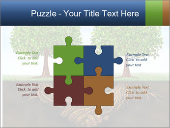 Two trees PowerPoint Template - Slide 43