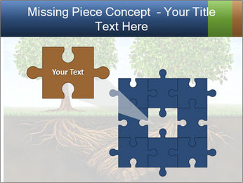 Two trees PowerPoint Template - Slide 45