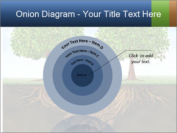 Two trees PowerPoint Template - Slide 61