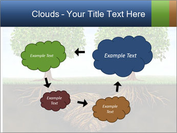 Two trees PowerPoint Template - Slide 72