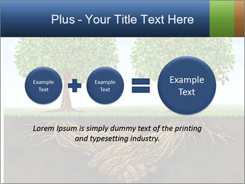 Two trees PowerPoint Template - Slide 75