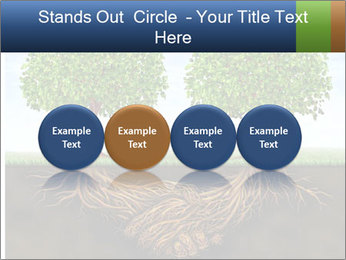 Two trees PowerPoint Template - Slide 76