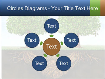 Two trees PowerPoint Template - Slide 78