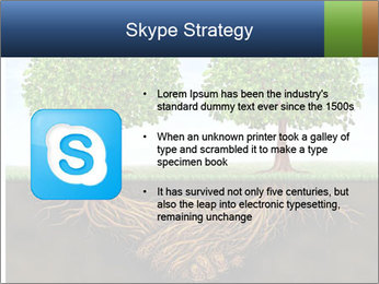 Two trees PowerPoint Template - Slide 8