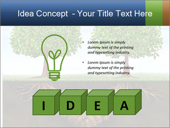 Two trees PowerPoint Templates - Slide 80