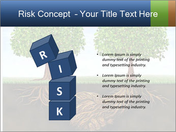 Two trees PowerPoint Template - Slide 81