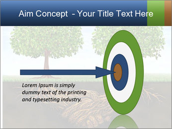 Two trees PowerPoint Template - Slide 83