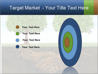 Two trees PowerPoint Template - Slide 84