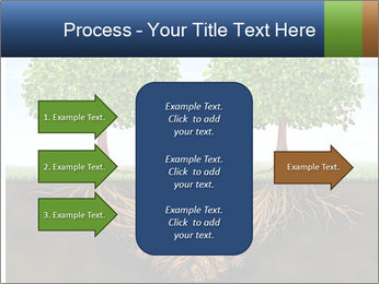 Two trees PowerPoint Template - Slide 85