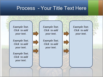 Two trees PowerPoint Template - Slide 86