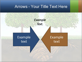 Two trees PowerPoint Template - Slide 90