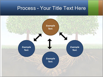 Two trees PowerPoint Template - Slide 91