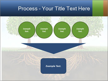 Two trees PowerPoint Template - Slide 93