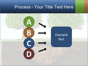 Two trees PowerPoint Template - Slide 94