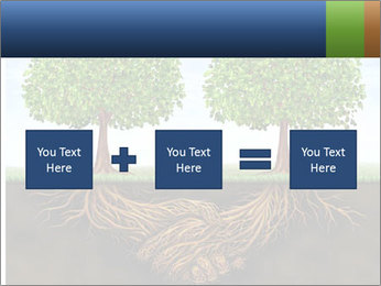 Two trees PowerPoint Template - Slide 95