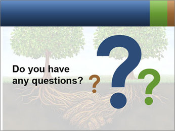 Two trees PowerPoint Template - Slide 96
