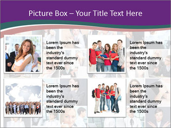 Office employee PowerPoint Templates - Slide 14