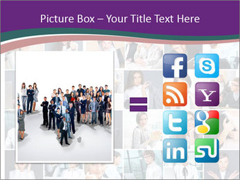 Office employee PowerPoint Templates - Slide 21