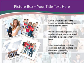 Office employee PowerPoint Templates - Slide 23