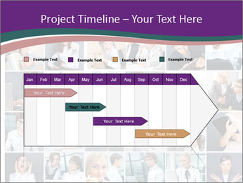 Office employee PowerPoint Templates - Slide 25