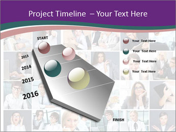 Office employee PowerPoint Templates - Slide 26