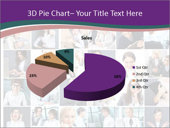 Office employee PowerPoint Templates - Slide 35
