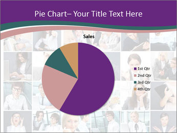 Office employee PowerPoint Templates - Slide 36