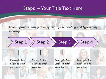 Office employee PowerPoint Templates - Slide 4