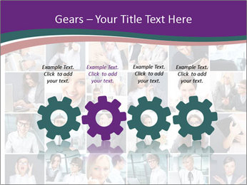 Office employee PowerPoint Templates - Slide 48