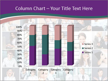 Office employee PowerPoint Templates - Slide 50