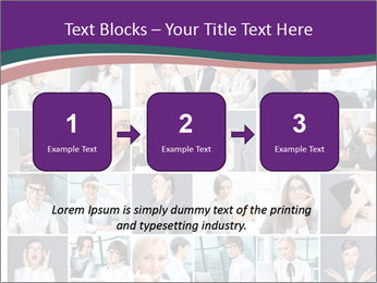 Office employee PowerPoint Templates - Slide 71
