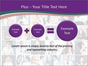 Office employee PowerPoint Templates - Slide 75