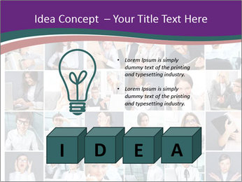 Office employee PowerPoint Templates - Slide 80