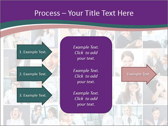 Office employee PowerPoint Templates - Slide 85