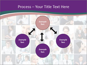 Office employee PowerPoint Templates - Slide 91