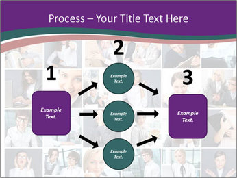 Office employee PowerPoint Templates - Slide 92