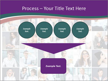 Office employee PowerPoint Templates - Slide 93