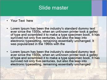 Columns PowerPoint Template