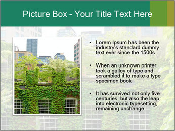 Green house PowerPoint Template - Slide 13