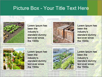 Green house PowerPoint Template - Slide 14