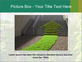 Green house PowerPoint Template - Slide 15