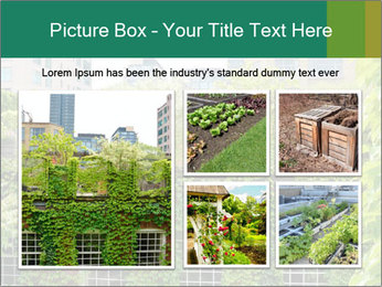 Green house PowerPoint Template - Slide 19