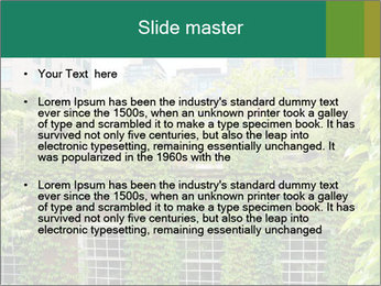 Green house PowerPoint Template - Slide 2